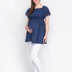 Фото: Модная туника для беременных и кормящих грудью Mila
