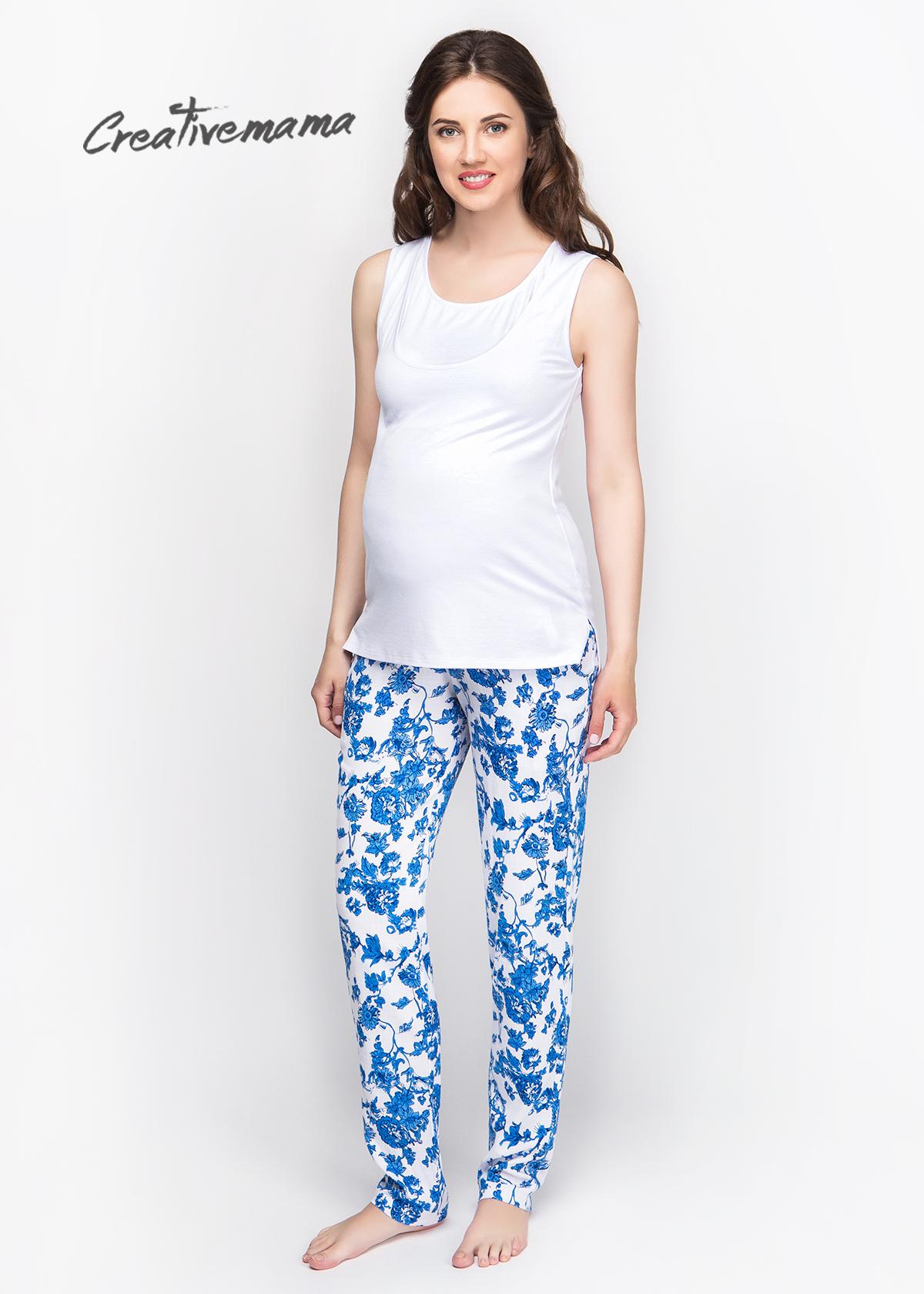 Фото: Летние брючки для беременных женщин Floral