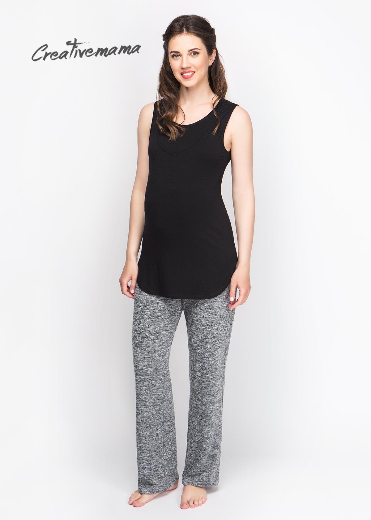 Фото: Серые брюки для будущих мам Sanders