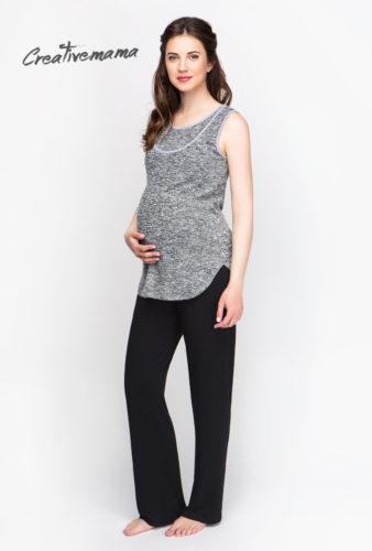 Фото: Черные брюки для беременных Contemp