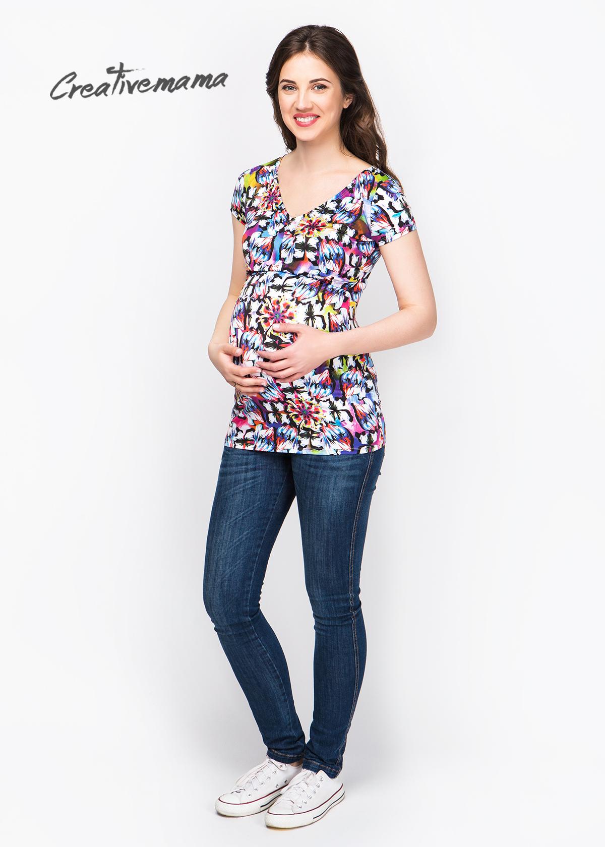 Фото: Стильная футболка для беременных Muze