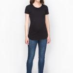 Фото: Черная футболка для беременных Soft Nero