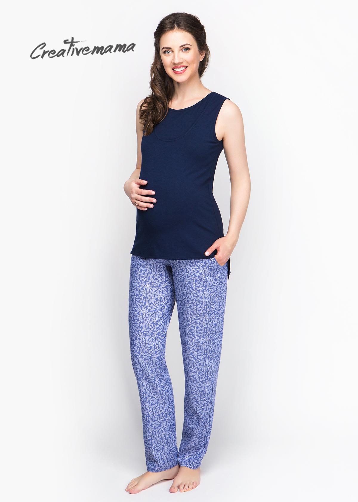 Фото: Маечка для беременных и кормящих Indigo