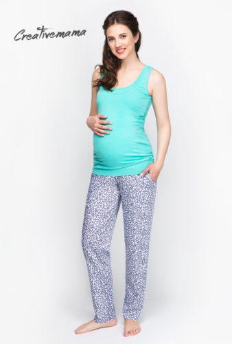 Фото: Модная майка для беременных Mint