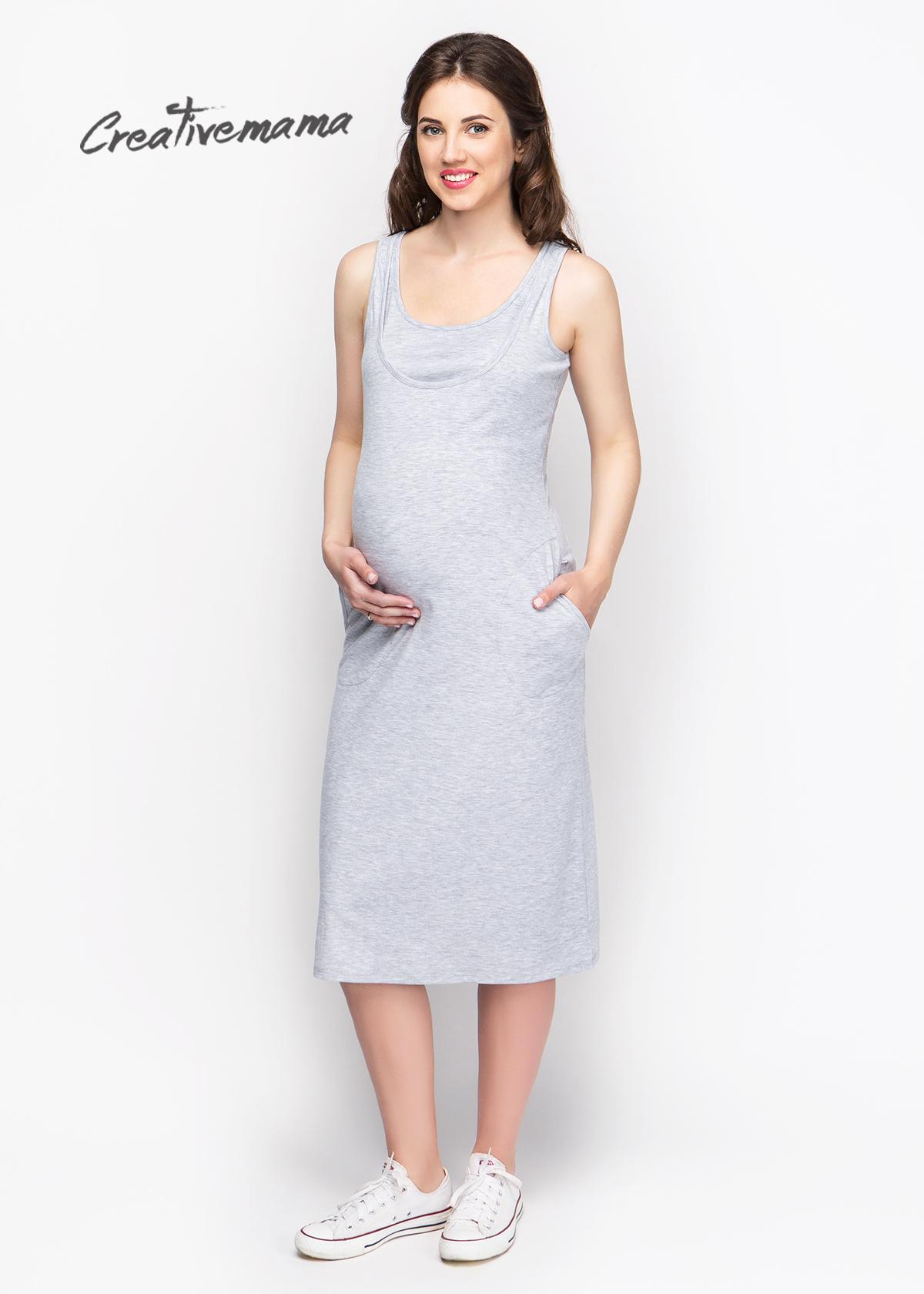 Фото: Платье майка для беременных Pearl