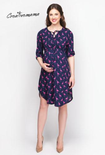 Фото: Платье туника Blue Flamingo для беременных девушек