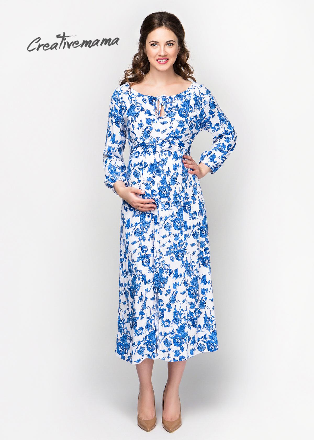 Красивое летнее платье для беременных женщин Fiora, последние ... 85fc8a4b10b