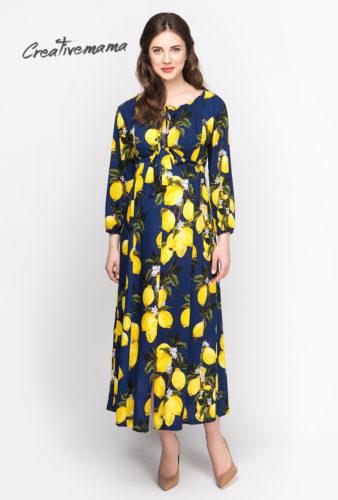 Фото: Платье туника для будущих мам Limoncello