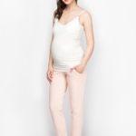 Фото: модная одежда, Нежный топ для беременных и кормящих грудью Champagne