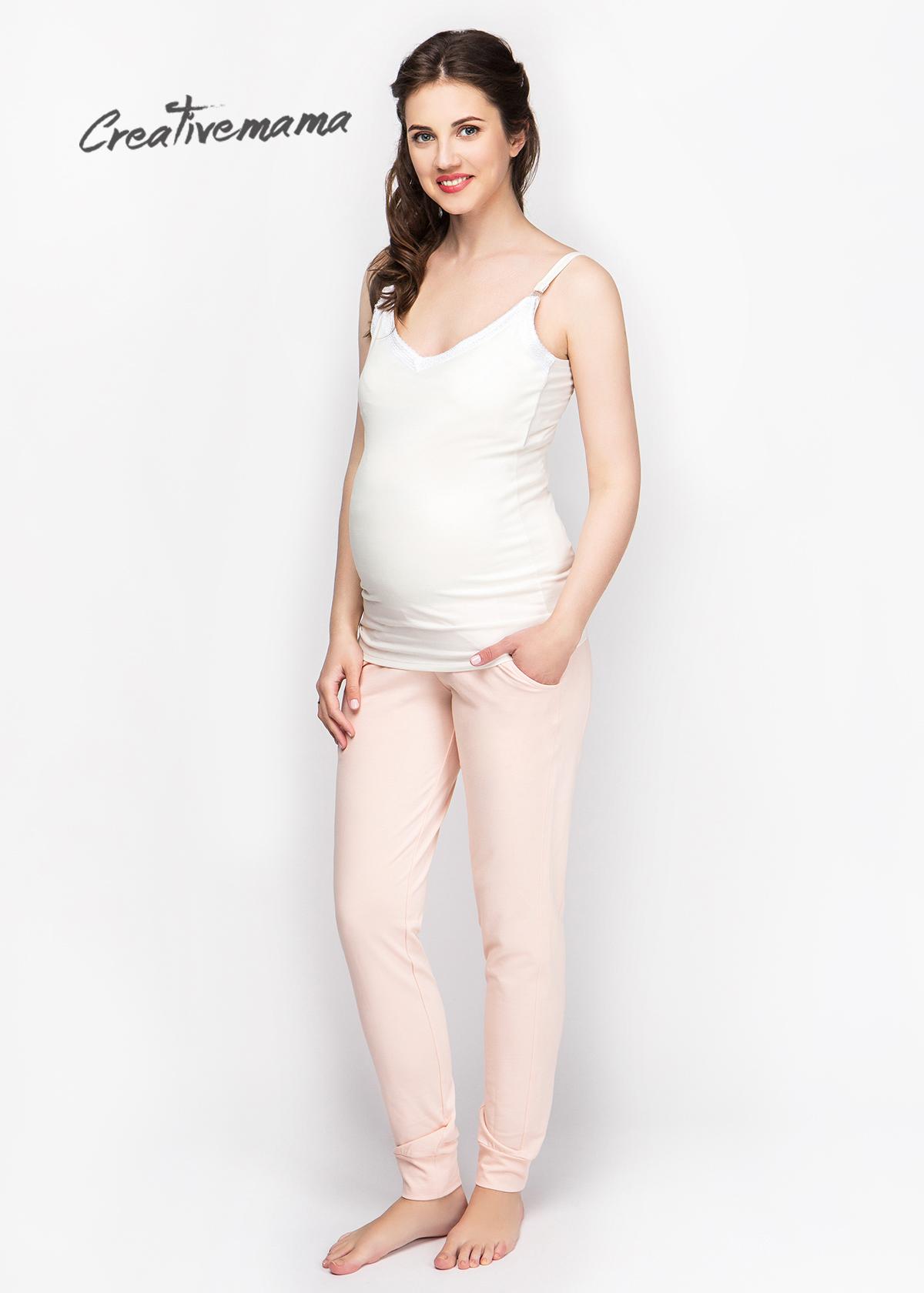 Фото: Нежный топ для беременных и кормящих грудью Champagne