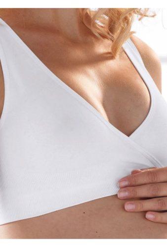 Фото: Бюстье для беременных и кормящих Luna tunes Anita белый - 3
