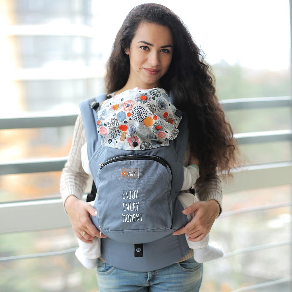 Фото: Эрго рюкзак Love & Carry AIR — Моменты счастья