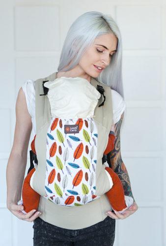 Фото: Эрго рюкзак Love & Carry DLIGHT — Листья