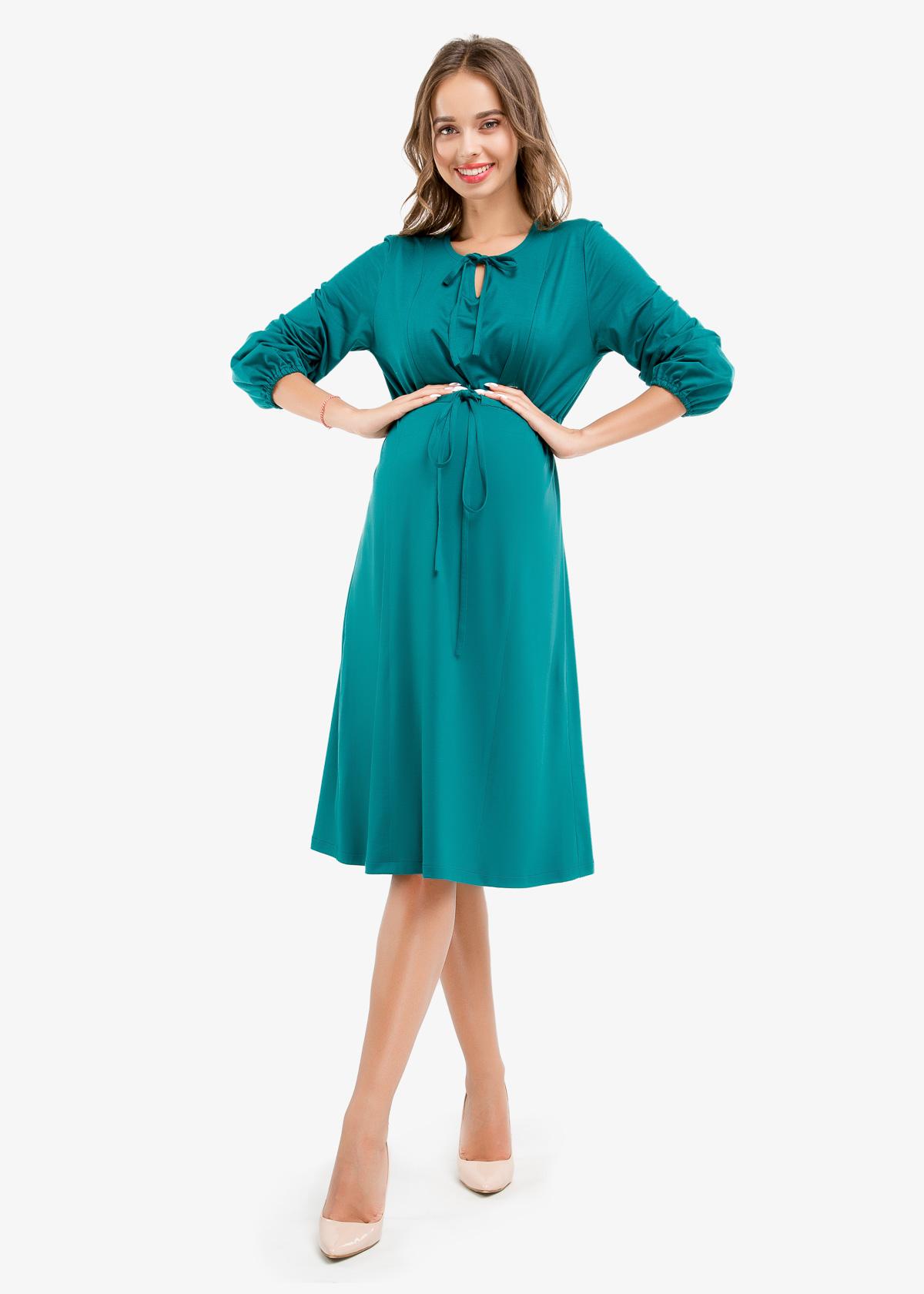 Фото: красивое летнее платье для будущих мам 1
