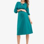 Фото: красивое летнее платье для будущих мам
