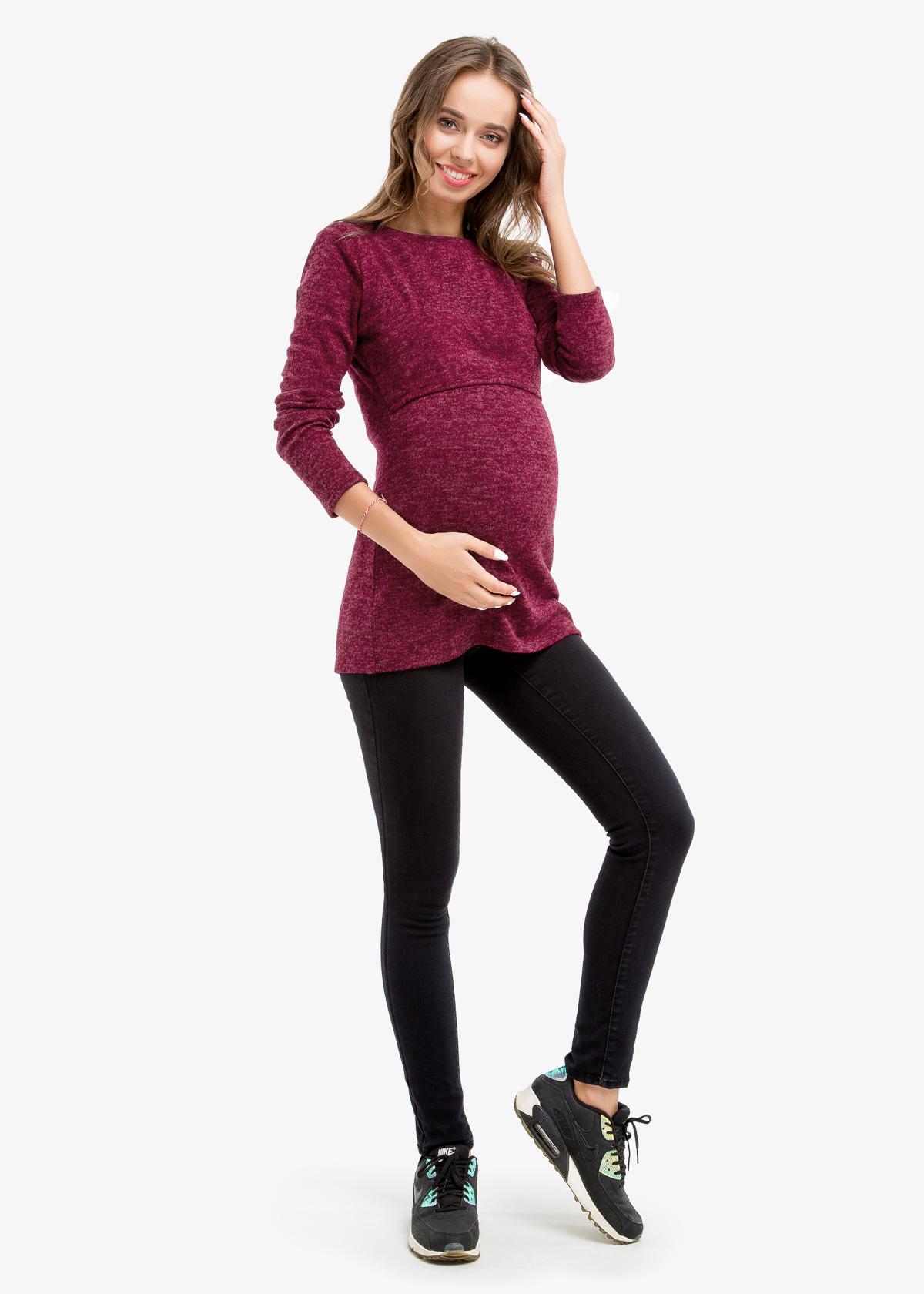 Фото: Лонгслив для беременных Marsala