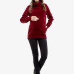 Фото: Теплый свитшот Bordo для кормящих и беременных