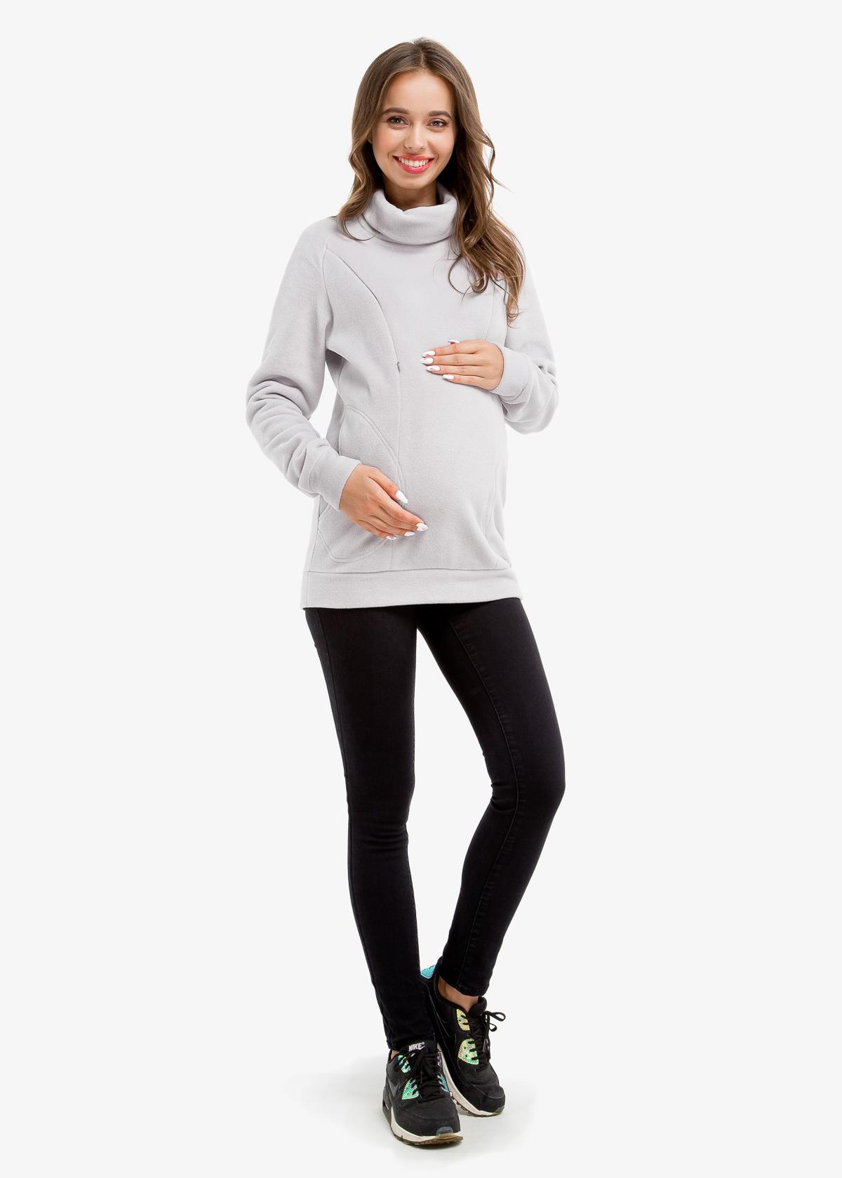 Фото: Свитшот теплый для беременных и кормящих