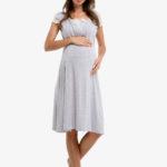 Фото: модная одежда для беременных, Ночнушка в роддом