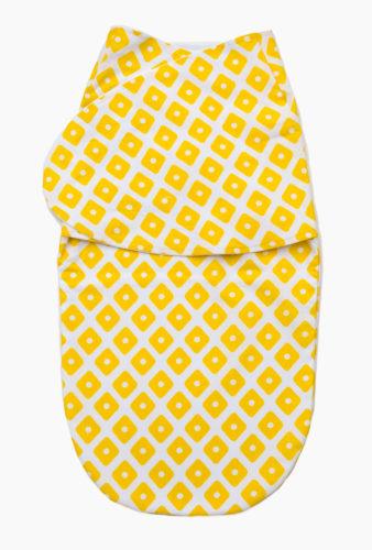 Фото: Европеленка кокон Creativemama, квадраты жёлтые