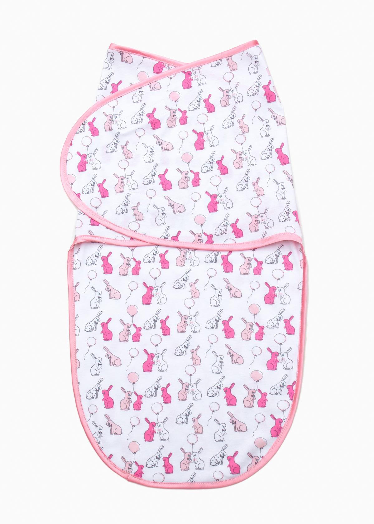 Фото: Европеленка Creativemama, розовые зайцы на белом