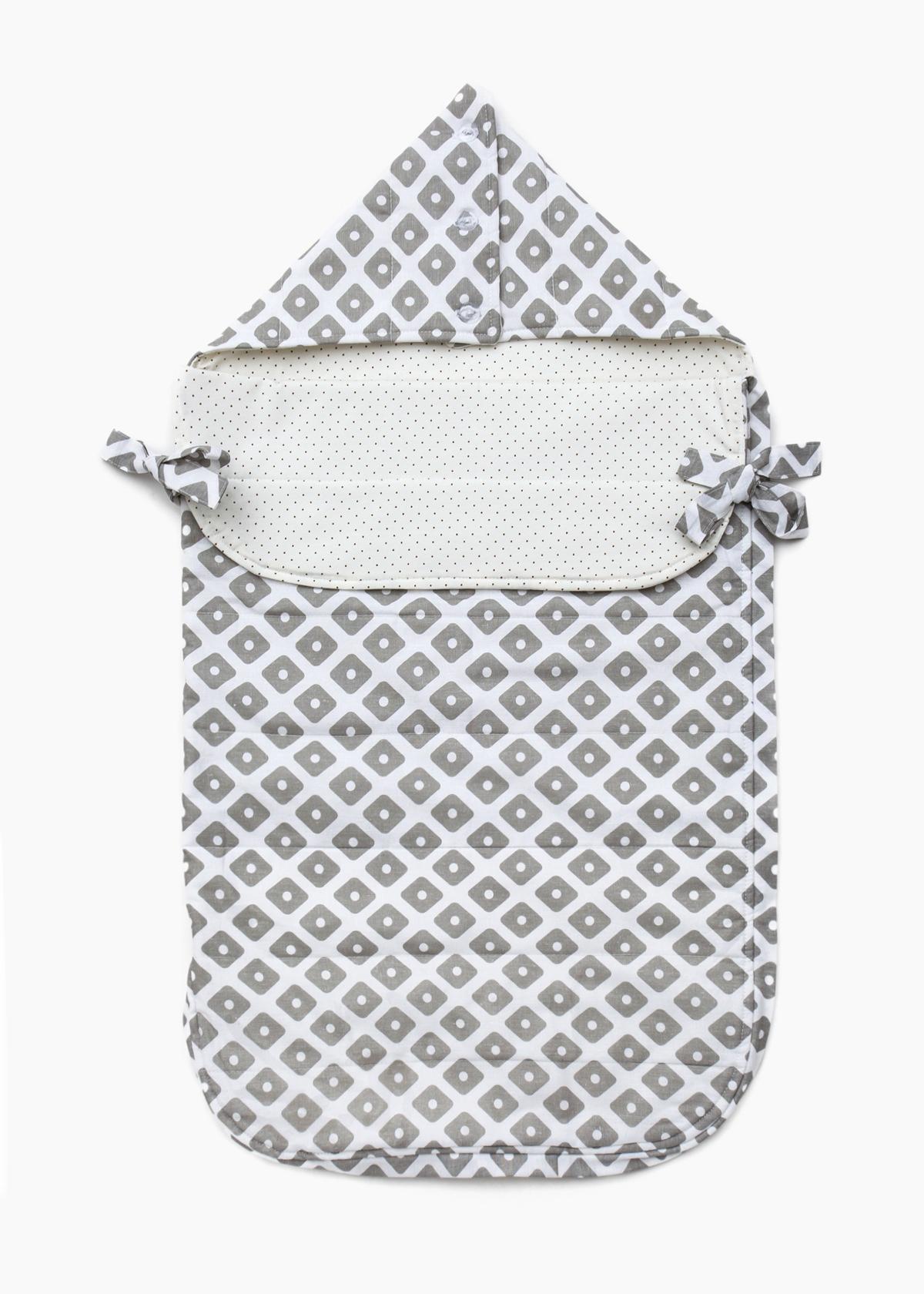 Фото: Конверт для новорожденных на выписку Grey Cotton