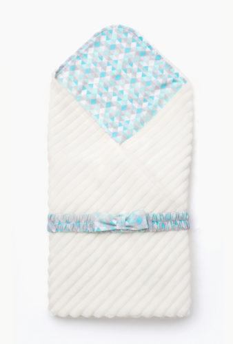 Фото: конверт одеяло на выписку Premium Milky