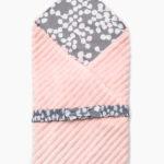Фото: конверт одеяло на выписку из роддома Premium Pudra