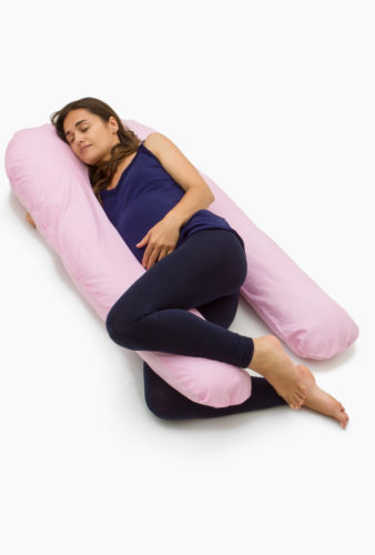 Фото: подушка подкова для беременных