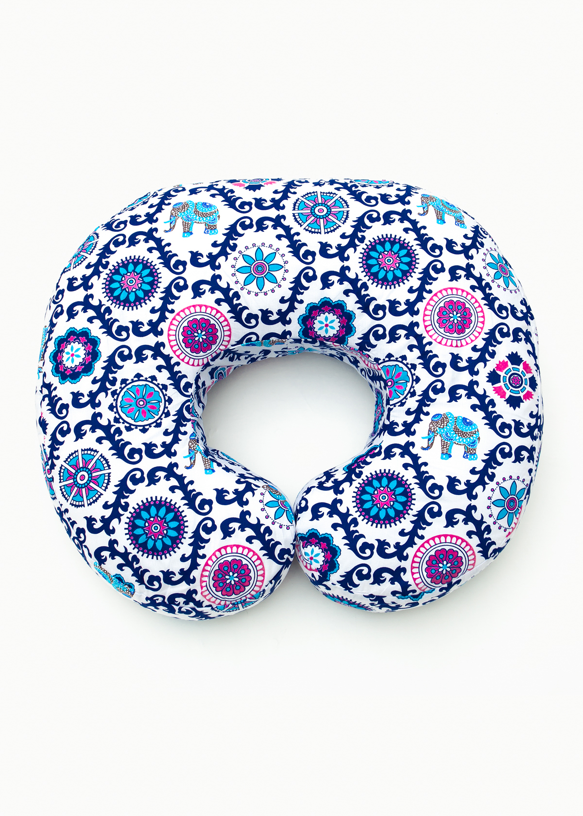 Фото: Подушка для кормящих Creativemama, бублик большой, Индия, 3