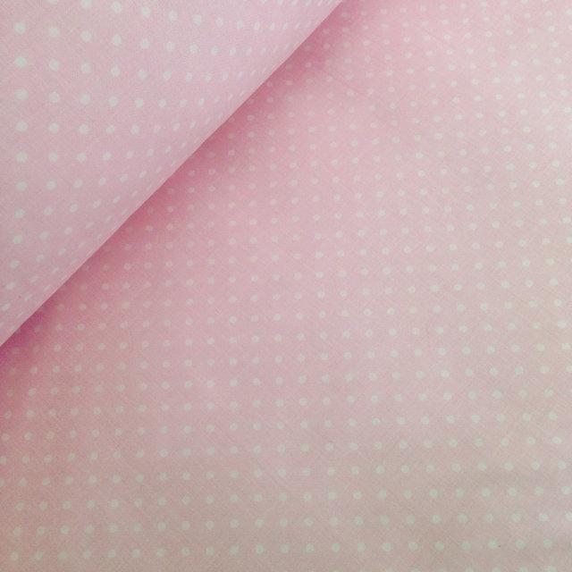 точки на розовом