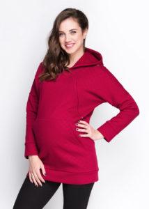 худи для беременных и кормящих мам Bordo
