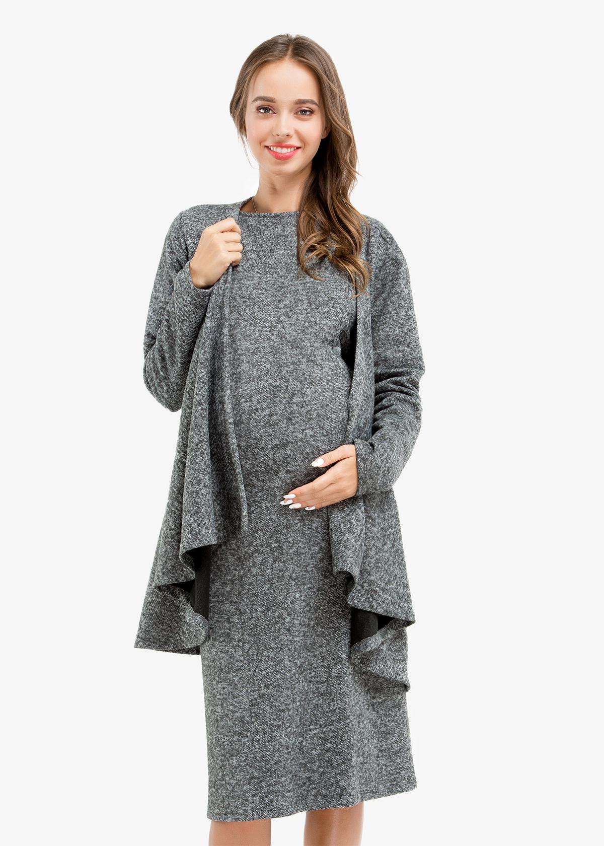 Фото: Прямое платье Femine для беременных 2