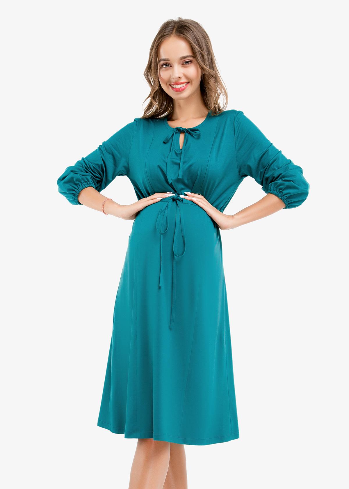 Фото: Красивое платье для беременных 1