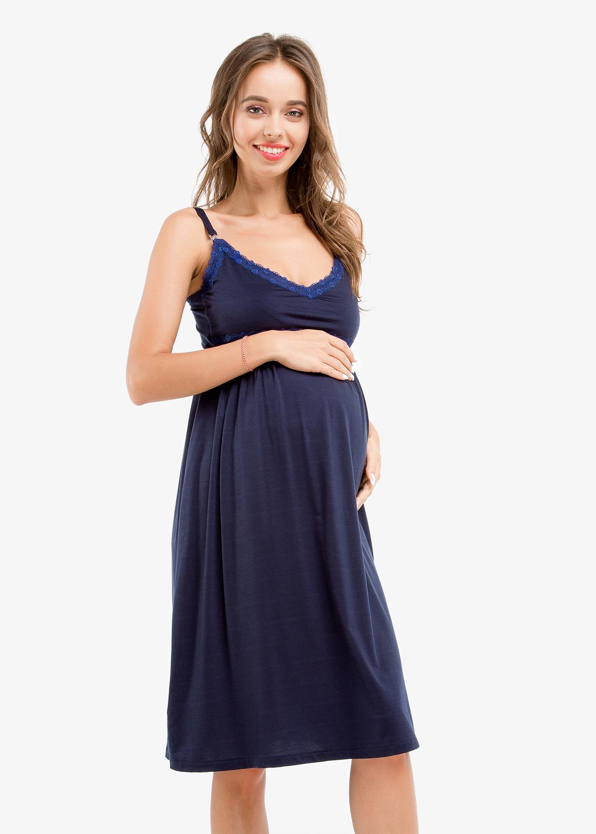 Фото: Красивая ночная рубашка для будущей мамы
