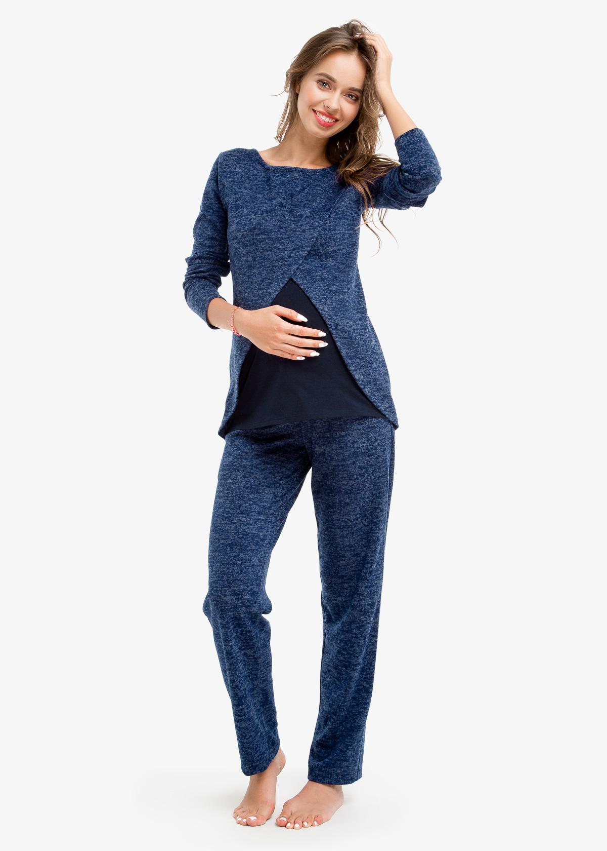 Фото: практичная одежда для будущих мам, Спортивный Костюм для беременных TOPAZZIO (ангора)