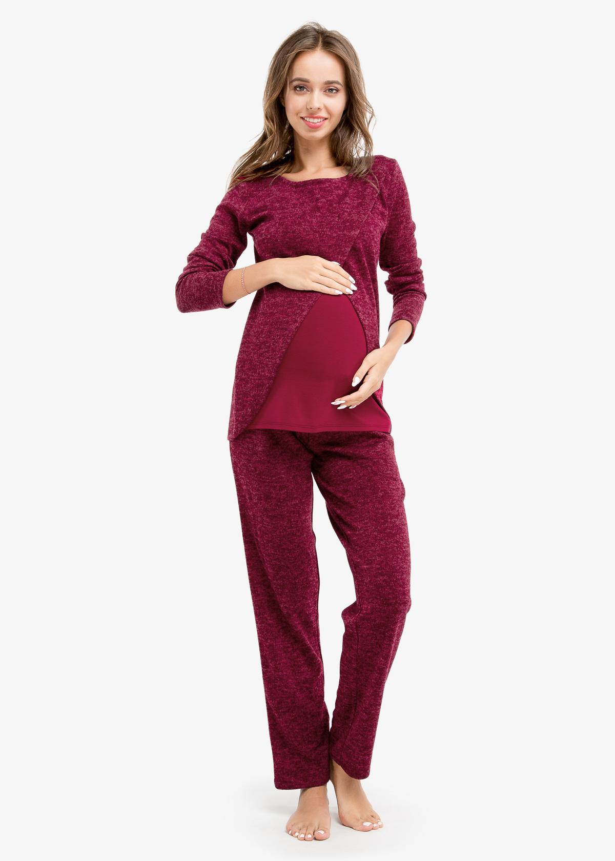 Фото: модная недорогая одежда, Костюм BORDO (ангора) для беременных