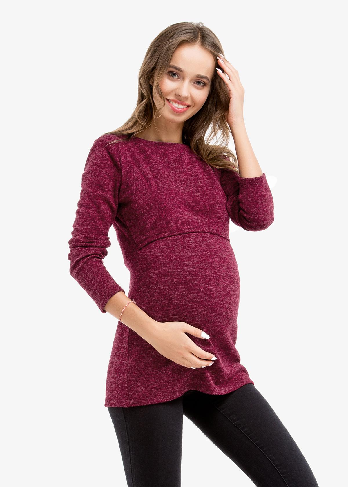 Фото: Водолазка Granat для беременных 1