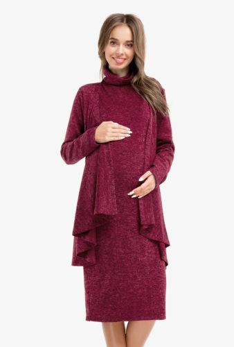 Фото: Платье туника Marsala для беременных