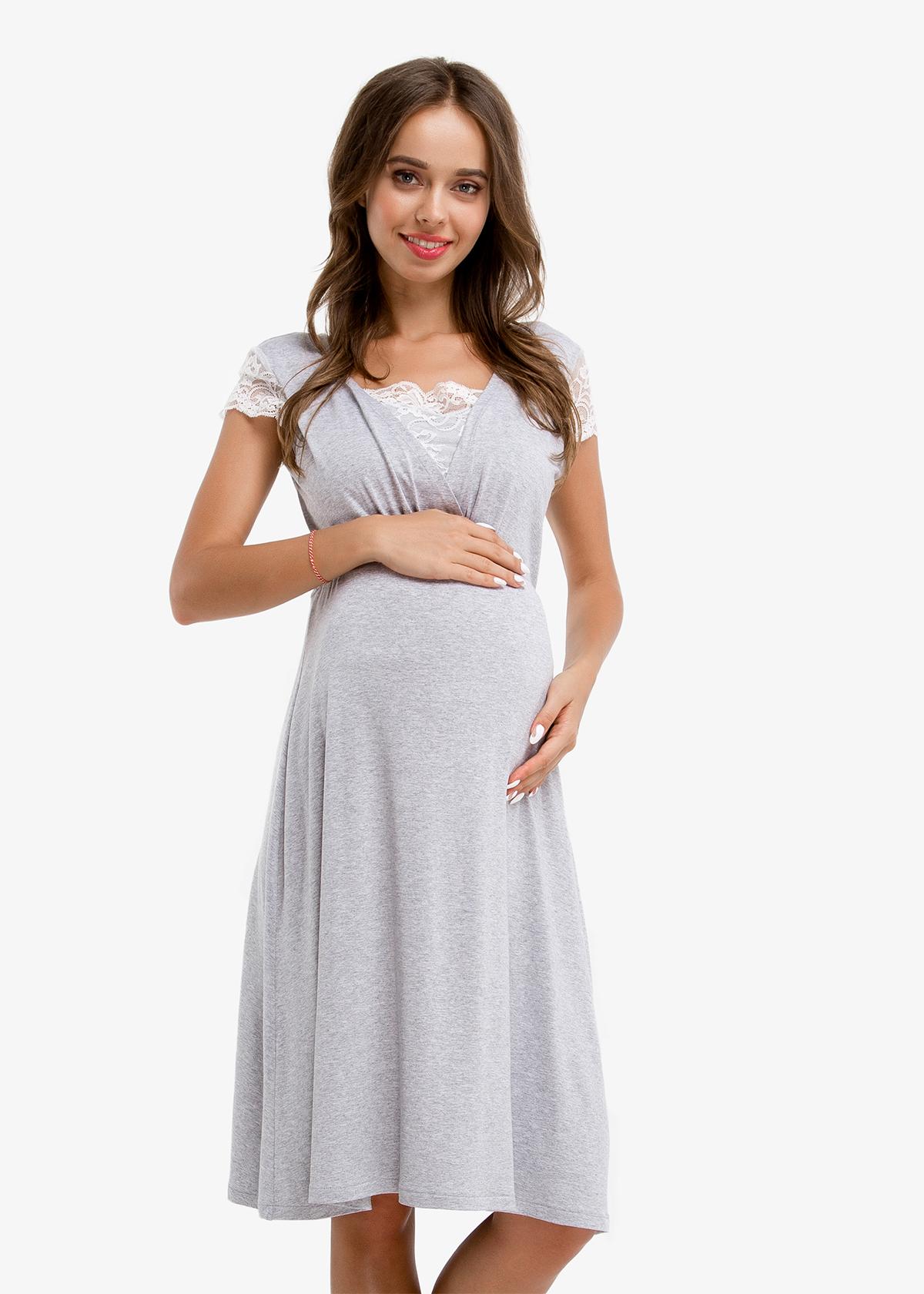 Фото: Ночнушка для беременных MELANGE CHIK