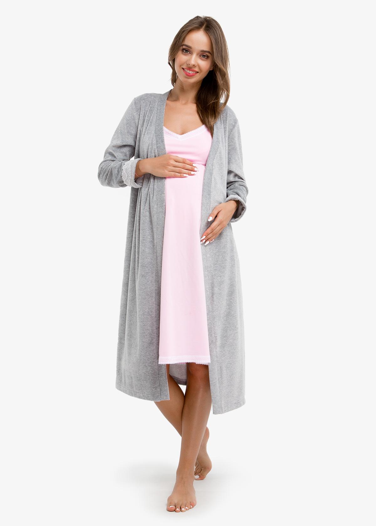 Фото: Ночная рубашка для беременных ANAIS (ХЛОПОК)