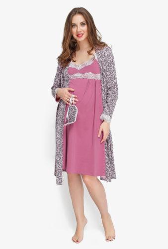 Фото: халат и ночнушка для беременных
