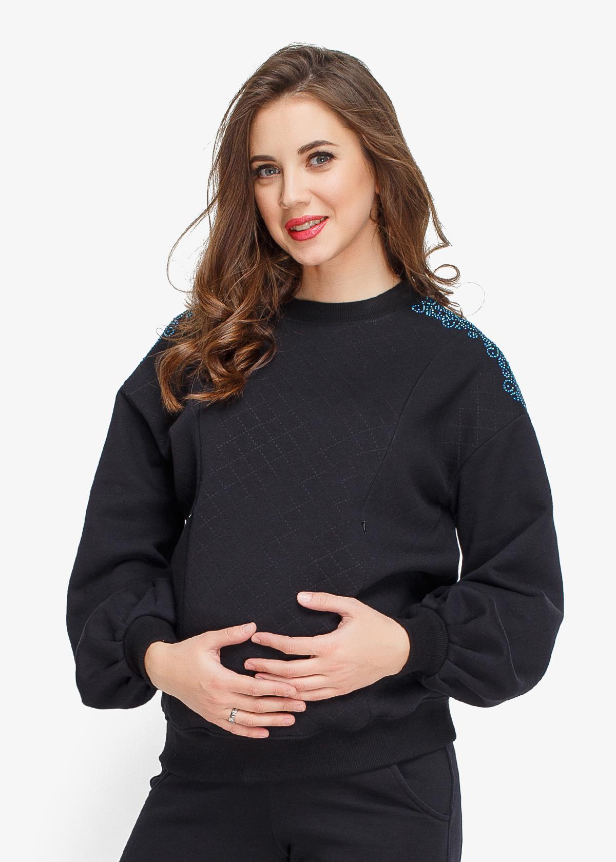 Фото: спортивный теплый костюм для беременных Nomi