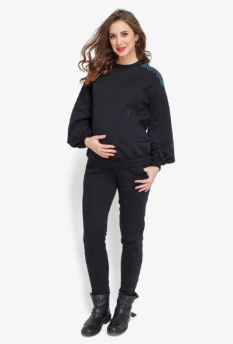 Фото: теплый костюм для беременных Nomi