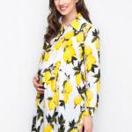 Платье рубашка-LIMON-3