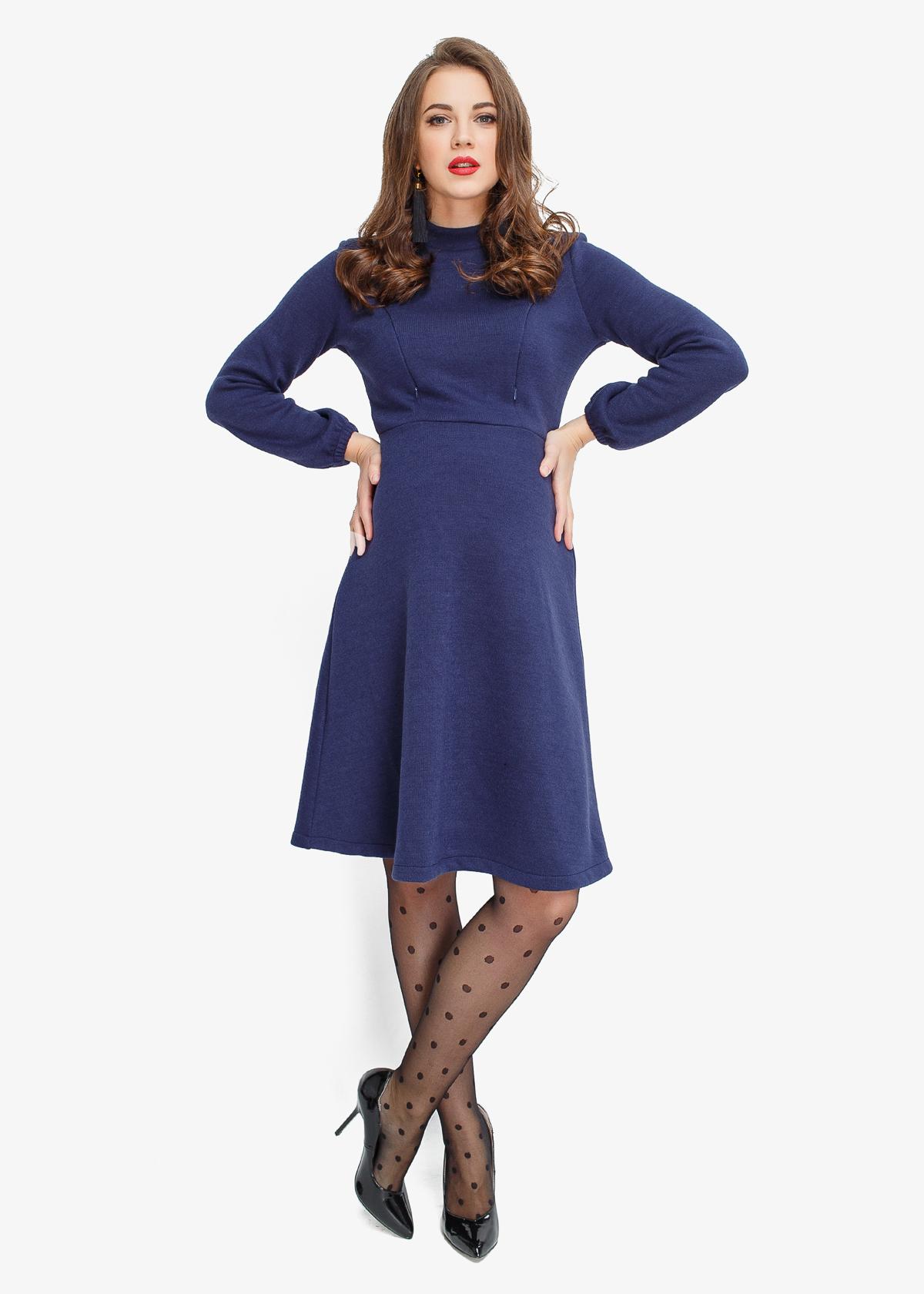 Фото: теплое платье для беременных INDIGO Limited Edition 1