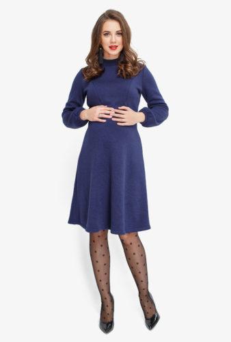 Фото: теплое платье для беременных INDIGO Limited Edition