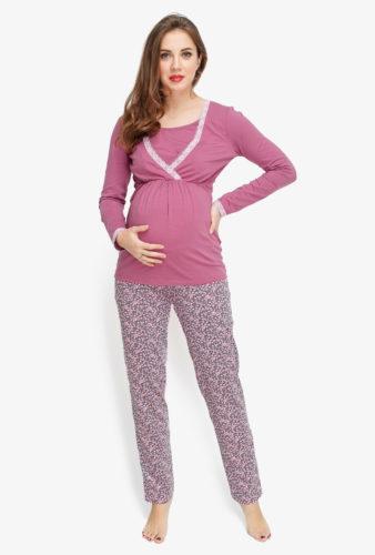 Фото: пижама для беременных и кормящих Lalique