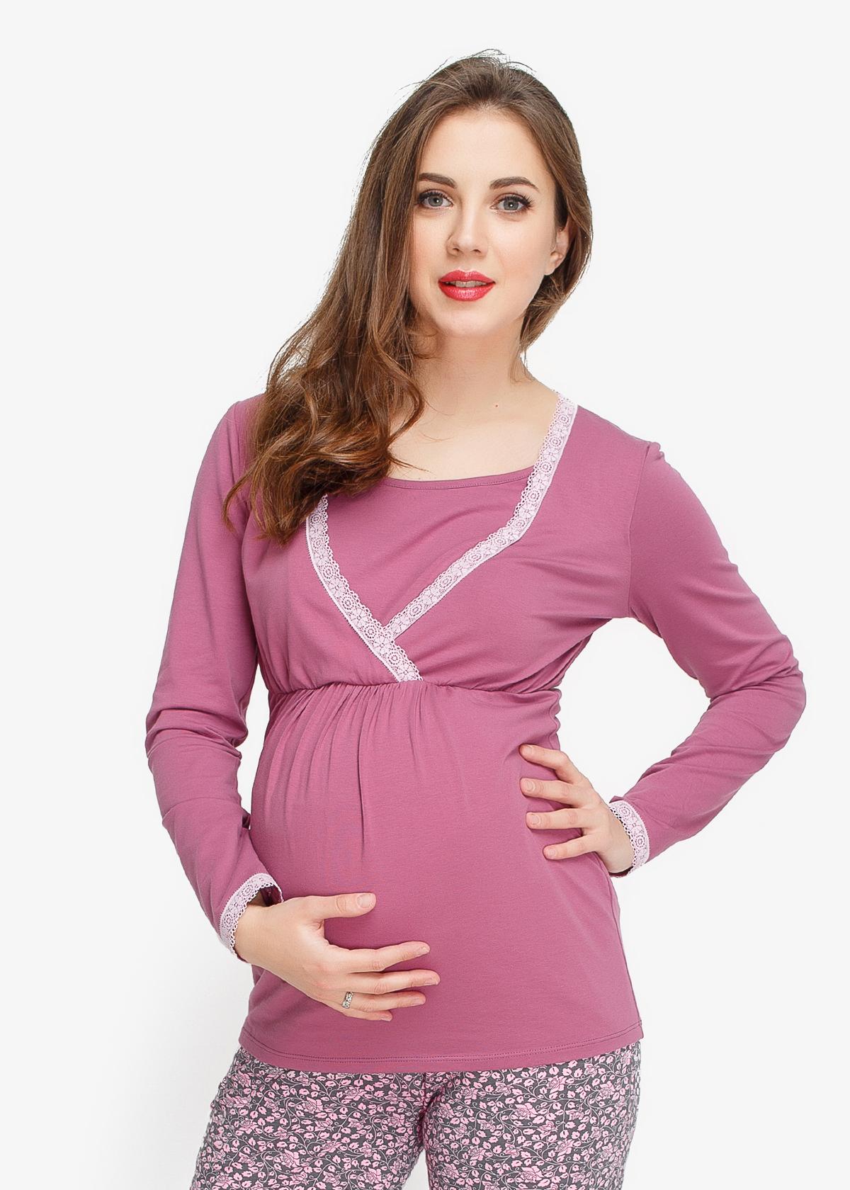 Фото: красивая пижама для беременных Lalique