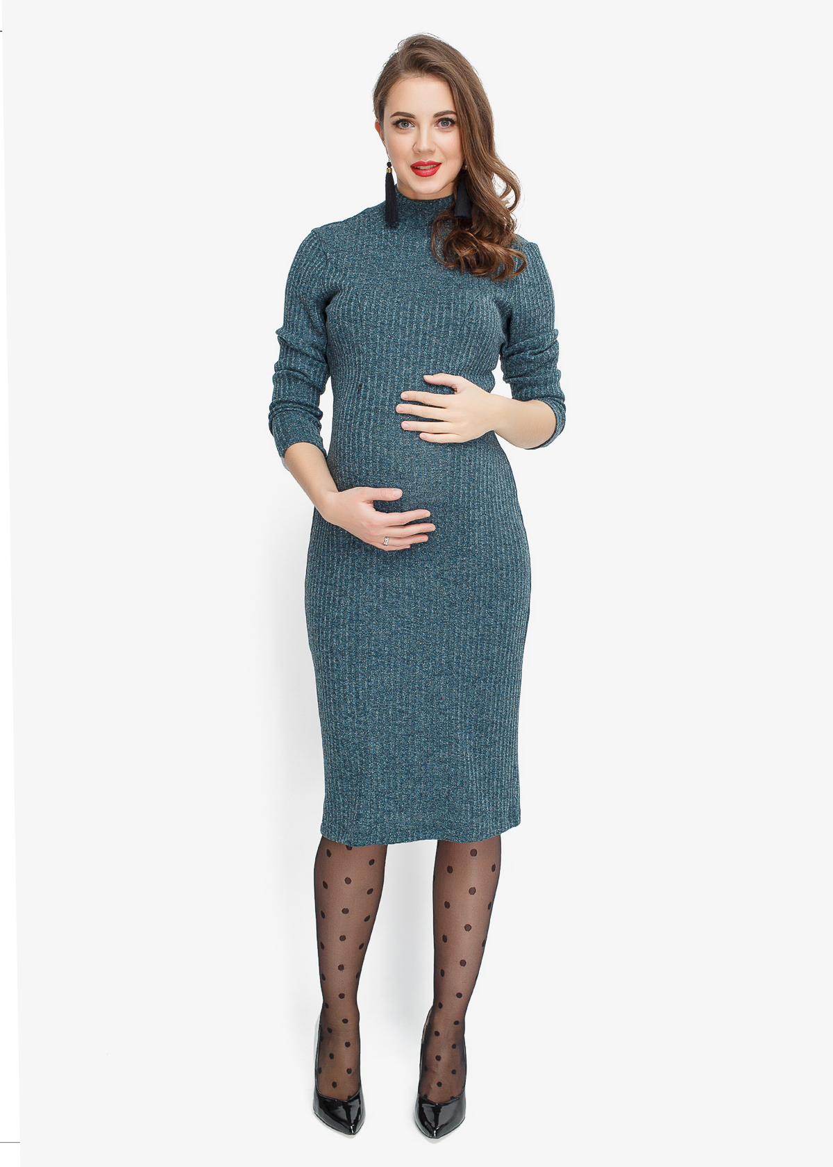 Фото: прямое платье для беременных Grenny